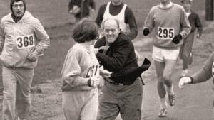First Lady of Boston Marathon