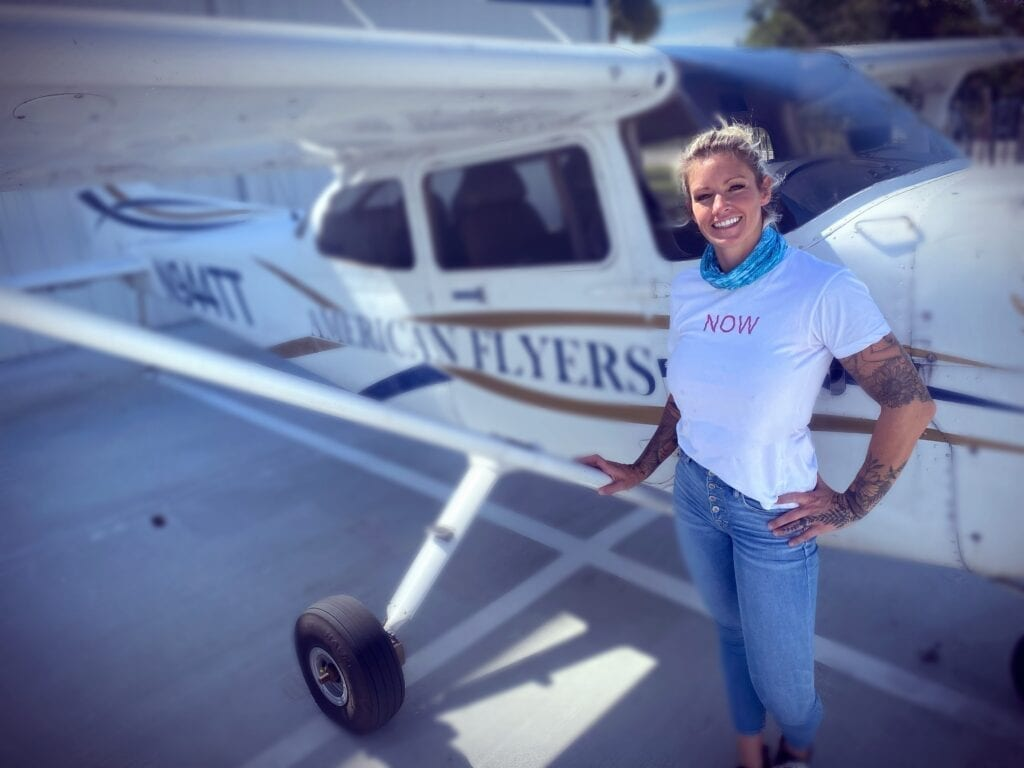 Kelli Hull Tony McLean Brown American Flyers Female Pilots
