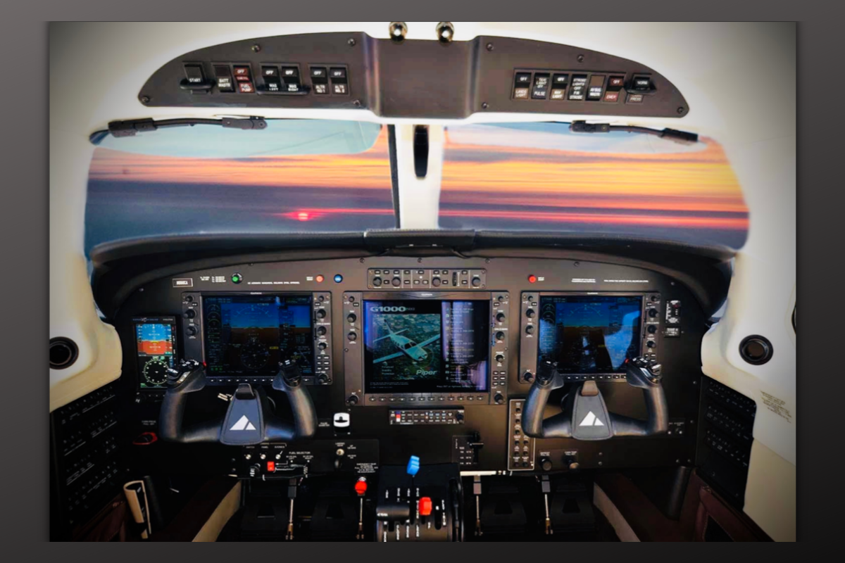 Kelli Hull Tony McLean Brown Cockpit