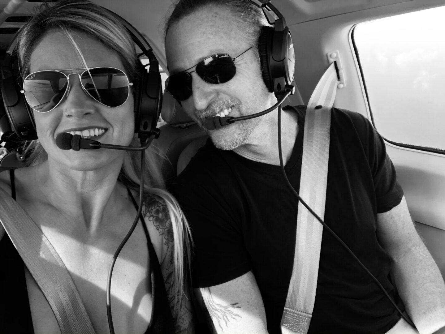 Kelli Hull Tony McLean Brown Pilots